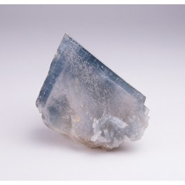 Blue Baryte with Calcite Moscona Mine M04344