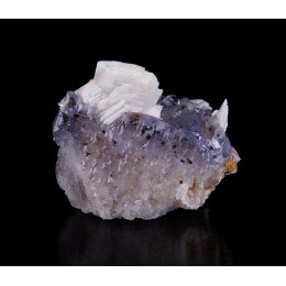 Baryte on Fluorite Jaimina Mine M04300