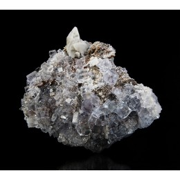 Fluorite and Calcite Emilio Mine M04217