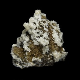Baryte on Fluorite Moscona Mine M04165