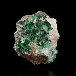Fluorite with Galena Diana Maria Mine - Rogerley M04154