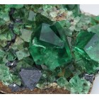 Fluorite with Galena, Diana Maria Mine - Rogerley M04109
