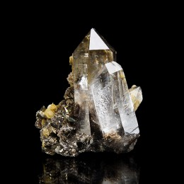 Quartz with Tourmaline Panasqueira M04080