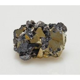 Pyrite and Galena Huanzala, Peru M04047