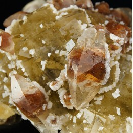 Fluorite, Calcite and and Dolomite - Moscona Mine M04024