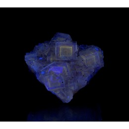 Fluorite Moscona Mine - Fluorescent M03970
