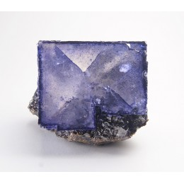 Fluorite on Sphalerite Elmwood M03827