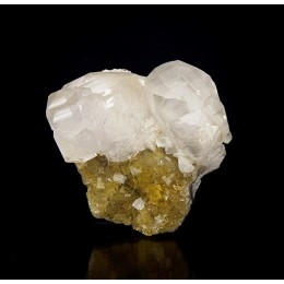 Calcite, Fluorite and Dolomite - Moscona Mine M03751