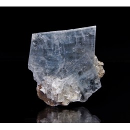 Blue Baryte with Dolomite - Moscona Mine  M03524