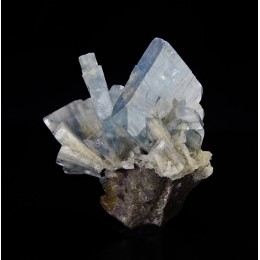 Blue Baryte - Moscona Mine  M03534