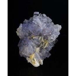 Fluorite on Baryte Jaimina Mine M03636
