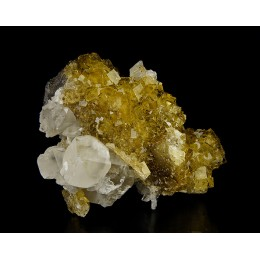 Fluorite, Calcite and Baryte - Moscona Mine M03647