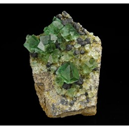Fluorite and Galena Rogerley Mine - UK M03401
