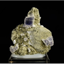 Fluorite and Quartz - Panasqueira M03407