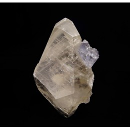 Calcite and Fluorite - La Viesca Mine M03361