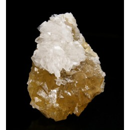 Baryte on fluorite Moscona M02523