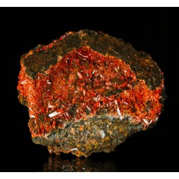 Crocoite Red Lead Mine-Tasmania  M02760