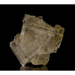Fluorite with pyrite phantoms M02647