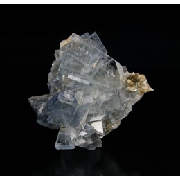 Blue Baryte on Dolomite M03037