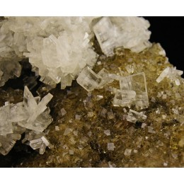 Baryte on Fluorite Moscona Mine M03015