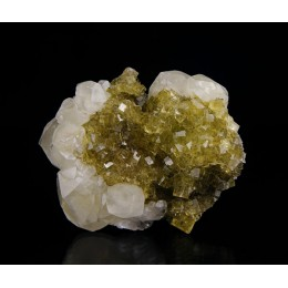 Fluorite and Calcite Moscona M03018