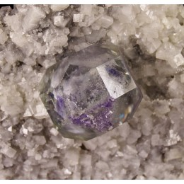Fluorite on Dolomite Shangbao-China M02919