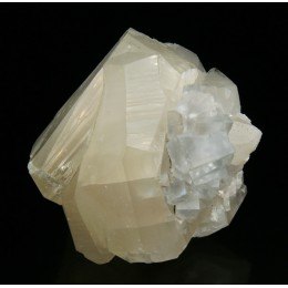 Fluorite and calcite M02369